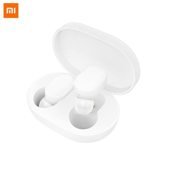 Слушалки Xiaomi Mi AirDots TWS, безжични, микрофон, Bluetooth, бели image