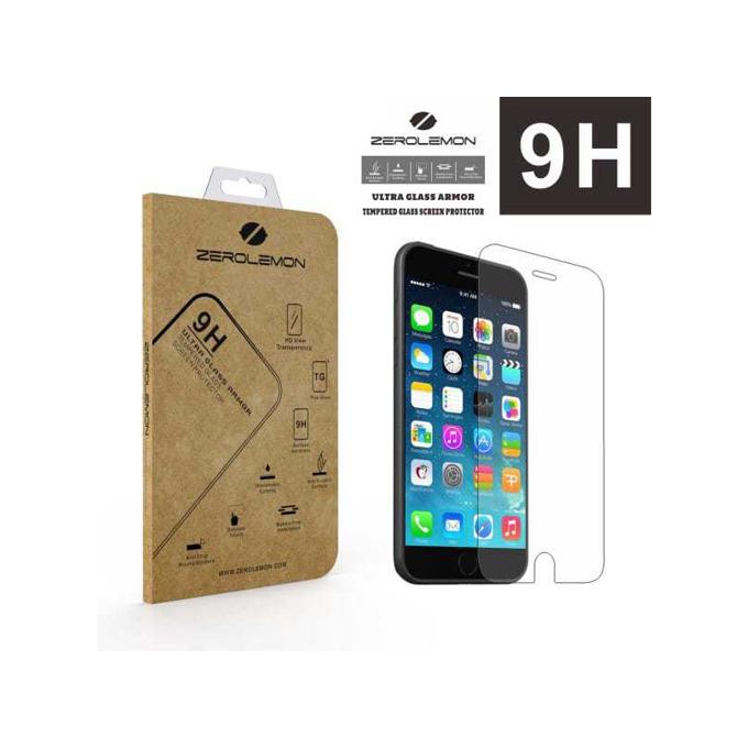 Протектор от закълено стъкло /Tempered Glass/ 0.3mm, 9H, Zerolemon за Apple iPhone 6 Plus image