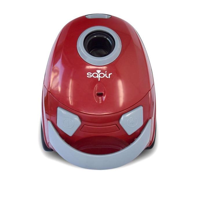 Прахосмукачка Sapir SP 1001 AN, с торба, 700 W, 1.5 л. капацитет на торбата, червена image