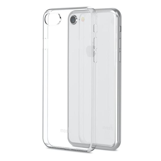 Калъф за Apple iPhone 7/8, силиконов, Moshi SuperSkin, прозрачен image