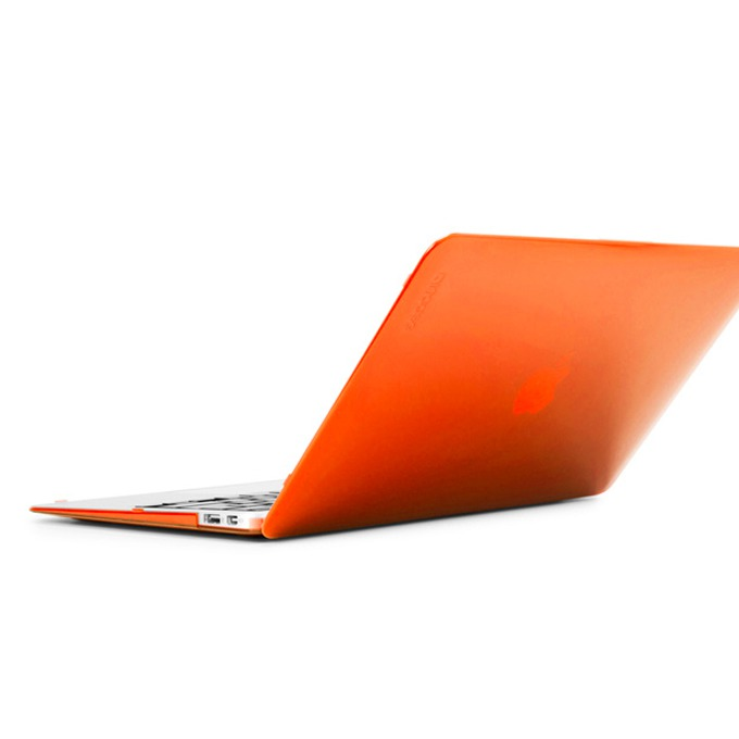"Протектор InCase Hardshell, поликарбонат, за MacBook Air 11"", оранжев-прозрачен image"