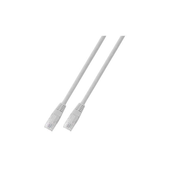 Пач кабел UTP EFB Elektronik, 3m, Cat 5E, бял image