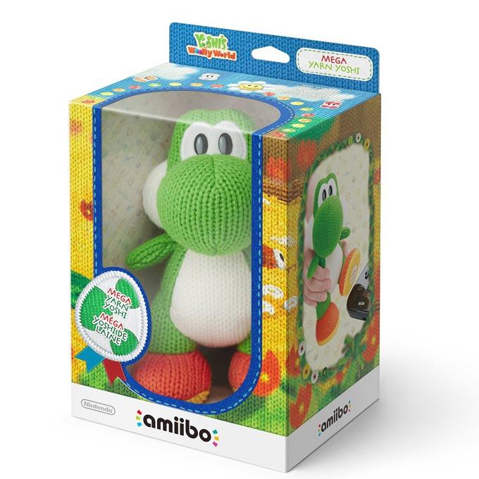 Фигура Nintendo Amiibo - Mega Yarn Yoshi, за Nintendo 3DS/2DS, Wii U image