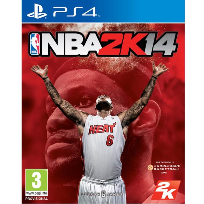 Игра за конзола NBA 2K14, за PlayStation 4 image