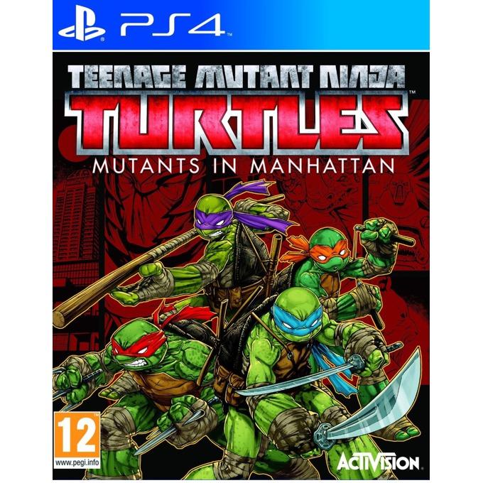 Teenage Mutant Ninja Turtles: Mutants in Manhattan, за PS4 image