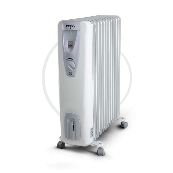 Радиатор Tesy CB2512E01R, 12 ребра, 3 степени на работа, устройство против замръзване, 2500W, бял image