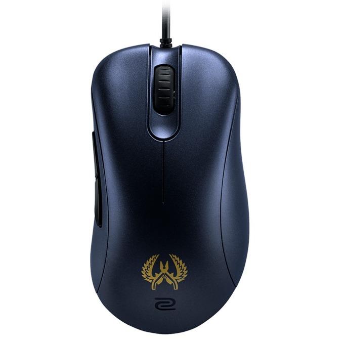 Мишка Zowie EC1-B CS:GO, оптична (3200 dpi), USB, 5 бутона, 2м кабел, гейминг, черна image