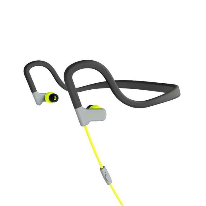 Слушалки Energy Sistem Sport 2, микрофон, жълти image