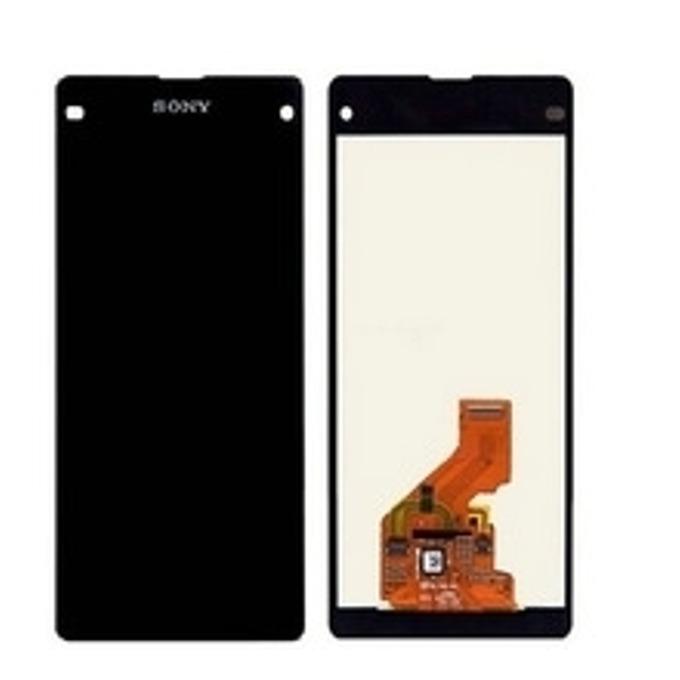 Дисплей за Sony Xperia Z1 mini/M51W, LCD, с тъч, оригинален, черен image