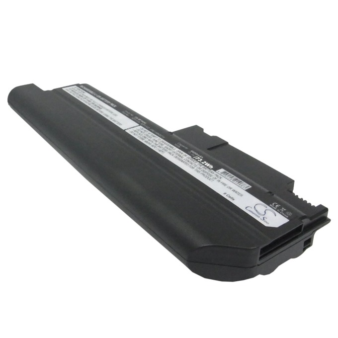 Батерия (заместител) за лаптоп IBM, съвместима с модели T40/R50/R51/T43, 11.1V, 7800mAh, Черен, Cameron sino, 9 cell image
