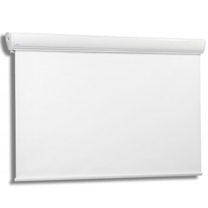 Екран Avers STRATUS 2 (30-23 MG), електрически за стена или таван, Matt Grey, 3000x2250 мм, 4:3 image