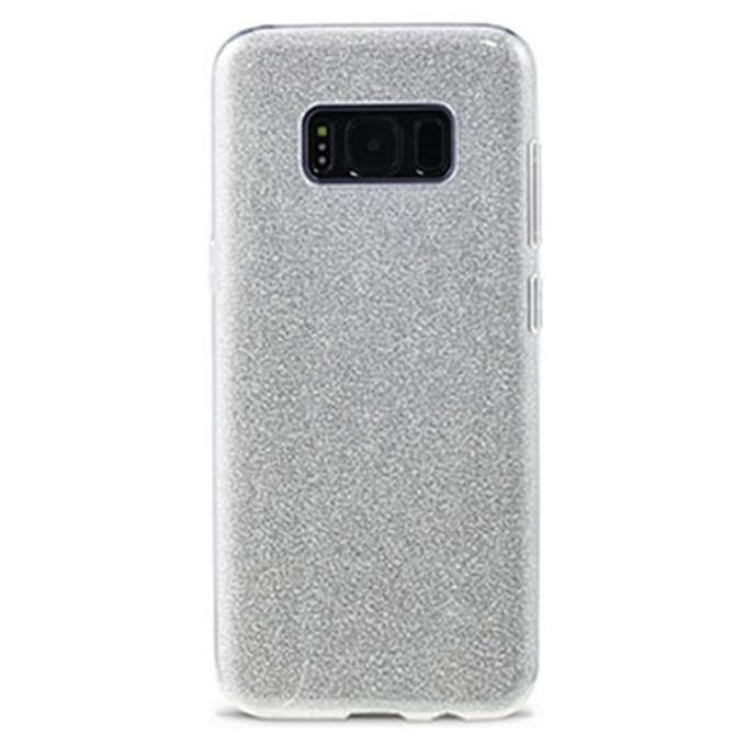Протектор Remax Glitter, за Samsung Galaxy S8 Plus, TPU, сребрист image