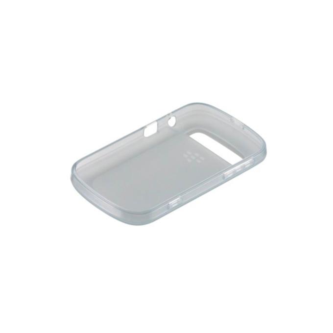 Калъф за Blackberry Touch 9900, страничен протектор с гръб, силиконов, Blackberry Soft Shell, прозрачен image