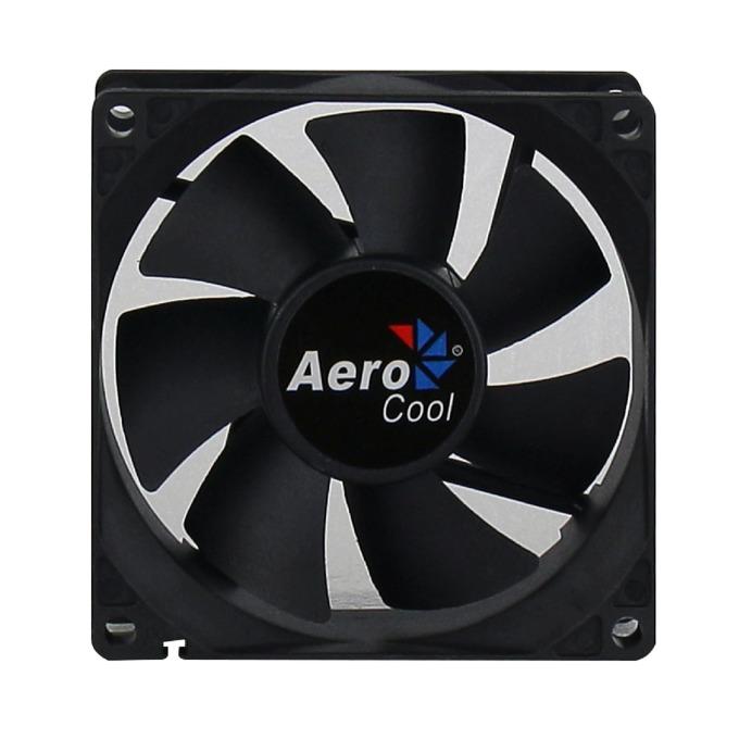 Вентилатор 80mm AeroCool Dark Force Black, 3-pin, 1800rpm image