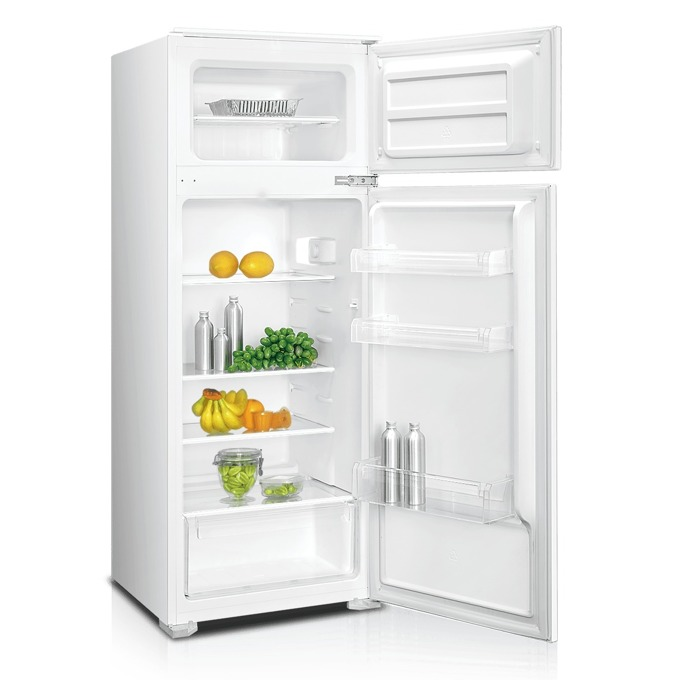 Вграден хладилник с горна камера Crown DF-250BUILD