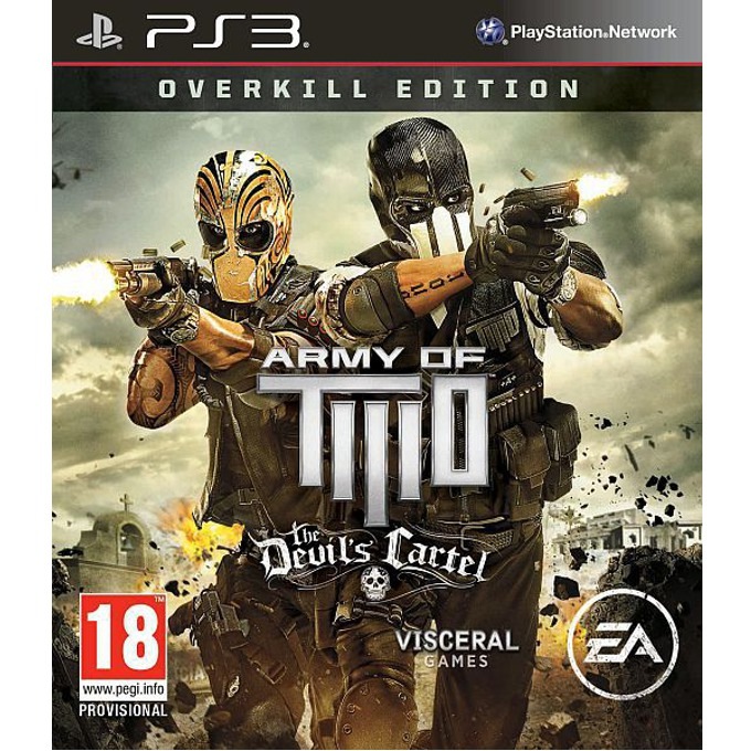 Army of Two: The Devil's Cartel Overkill Edition, за PlayStation 3 image