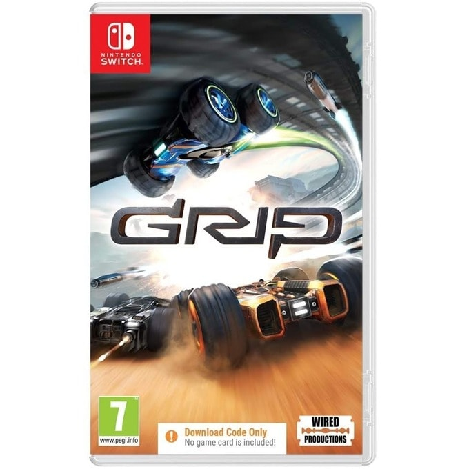 Grip: Combat Racing - Code in a Box Switch product