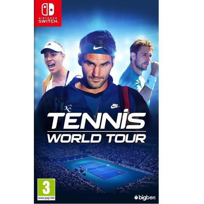 Tennis World Tour, за Switch image
