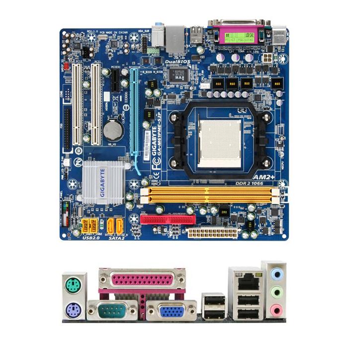 Gigabyte GA-M61PME-S2 Nvidia SATA RAID Drivers for Windows Download