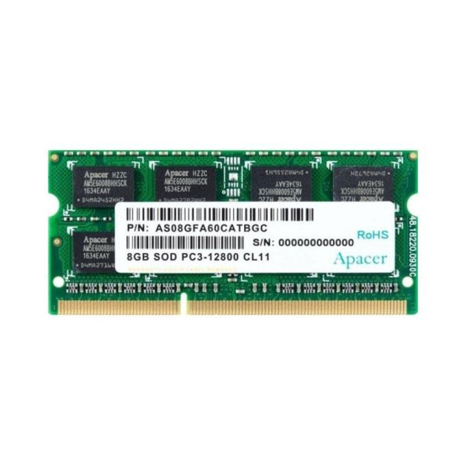 8GB DDR3 1600MHz, SODIMM, Apacer image