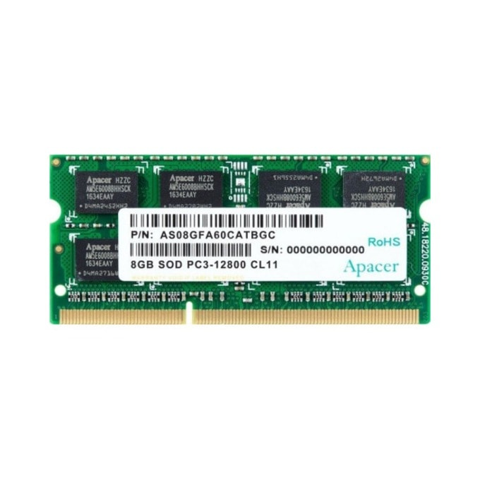 Памет 8GB DDR3 1600MHz, SODIMM, Apacer image