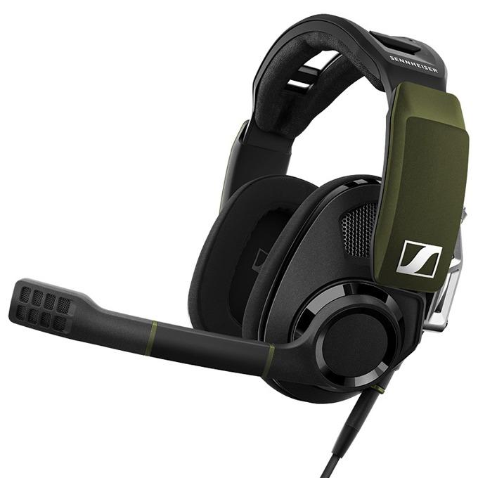 Слушалки Sennheiser GSP 550 Open Acoustic, микрофон, геймърски, 7.1 Dolby surround audio, черни image