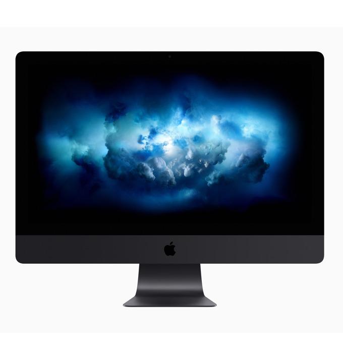 "All in One компютър Apple iMac Pro 27 (MQ2Y2ZE/A), осемядрен Intel Xeon W-2145 3.2/4.2GHz, 27""(68.58 cm) 5K Retina дисплей & Radeon Pro Vega 56 8GB HBM2, 32GB RAM DDR4, 1TB SSD, 4x Thunderbolt 3 (USB-C), клавиатура и мишка, High Sierra image"