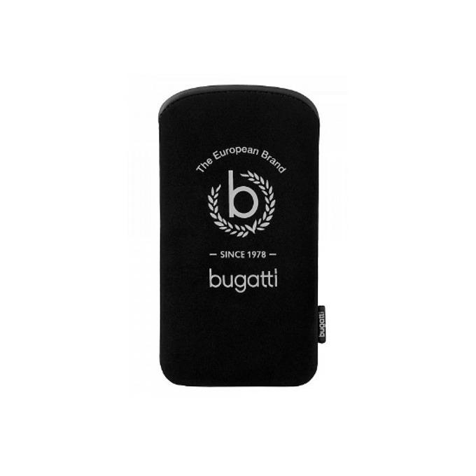 """Калъф """"джоб"""" Bugatti Slim Tallinn XL, неопренов, черен image"""