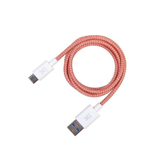Кабел A-solar Xtorm, от USB-A 3.0(м) към USB C(м), 0.1m, зелен image