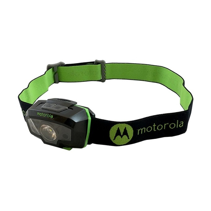 Челник Motorola MHM240, 3х AAA батерии, 240 lumens, водоустойчив, черен image
