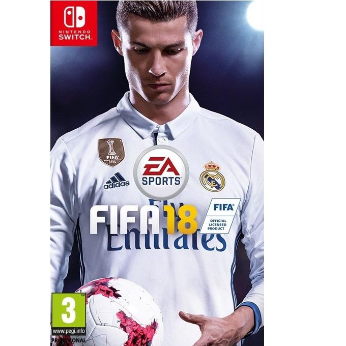 Игра за конзола FIFA 18, за Switch image
