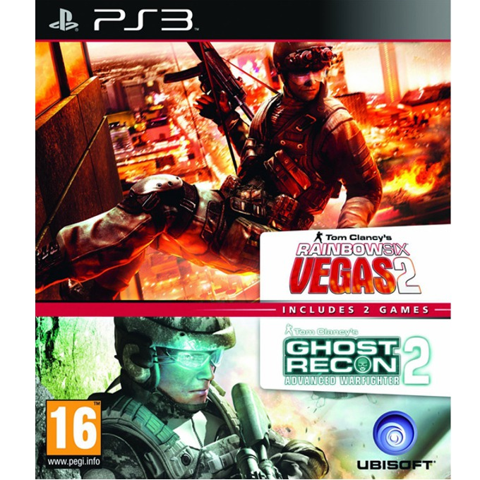 Игра за конзола Rainbow Six Vegas 2 + Ghost Recon Advanced Warfighter 2 Пакет (2 в 1), за PlayStation 3 image
