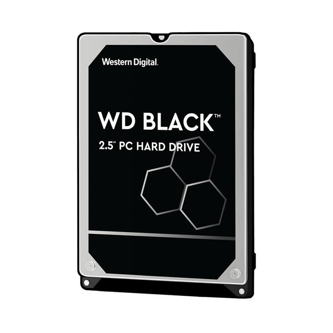 """Твърд диск 500GB, WD Black, SATA 6Gb/s, 7200rpm, 32MB, 2.5"""" (6.35 cm), 7mm, 5г. гаранция image"""