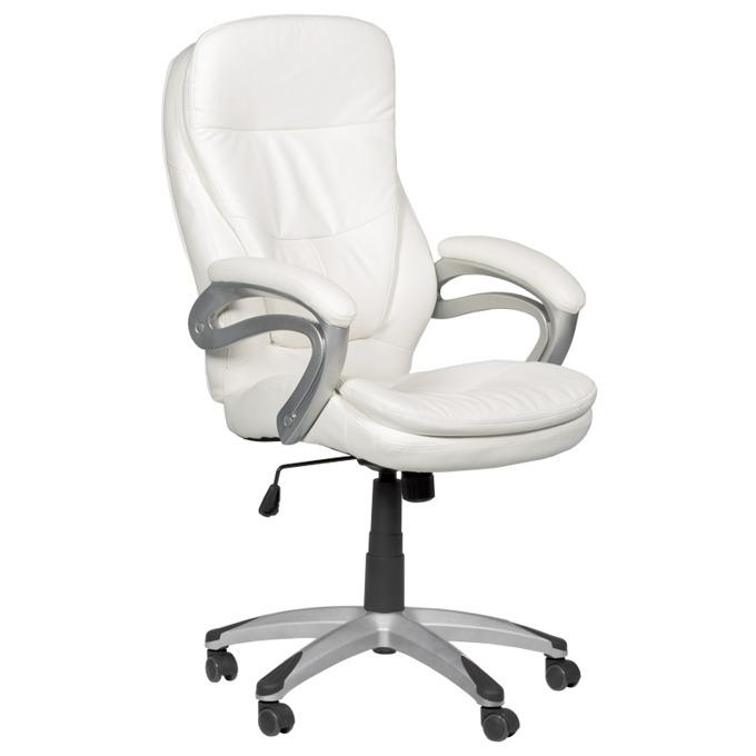 Директорски стол Carmen 6056, бял image