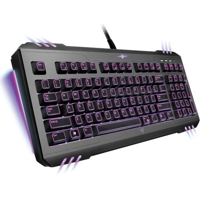 Клавиатура Razer Marauder™ StarCraft® II Armored Assault, подсветка, програмируеми бутони с макро функция, USB image