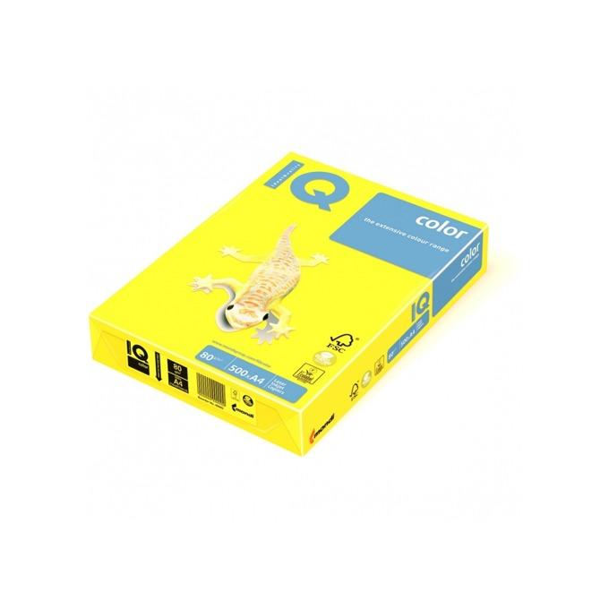 Хартия Mondi IQ Color IG50, A4, 80 g/m2, 500 листа, жълта image