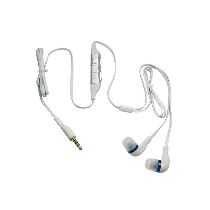 Слушалки Nokia WH-701 Stereo, бели, микрофон и управление на звука, за мобилни телефони Nokia, bulk package image