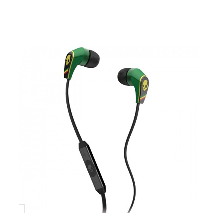 Cлушалки SkullCandy 50/50 (раста), микрофон и управление на звука за iPhone image
