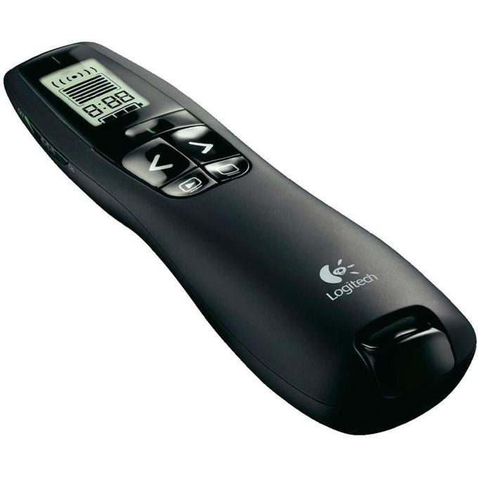 Лазерна показалка, Logitech Professional Presenter R700, USB приемател image