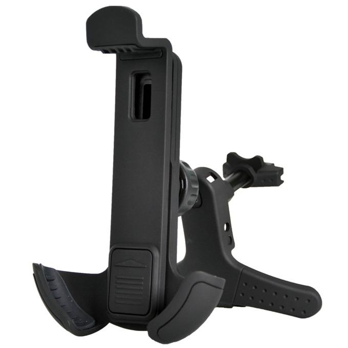 """Стойка за телефон TnB, за кола, за размери от 3.5"""" до 5.5"""", универсална, черна image"""