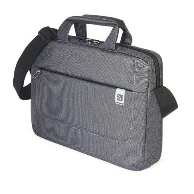 """Чанта за лаптоп TUCANO BSLOOP13-BK Loop Slim, до 14"""" (35.56 cm), сива image"""