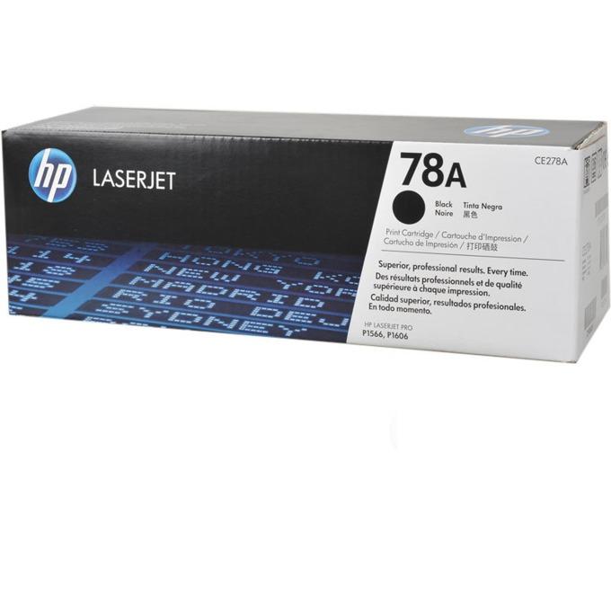 КАСЕТА ЗА HP LASER JET PRO P1566/P1606 - Black - P№ CE278A - заб.: 2100k image