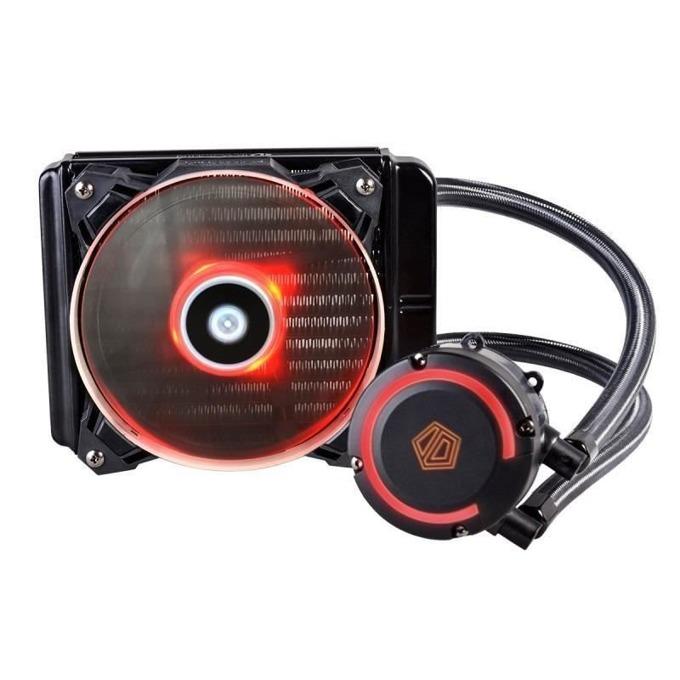 Водно охлаждане за процесор ID-Cooling AURAFLOW 120, съвместимост със сокети LGA2066/2011/1366/1151/1150/1155/1156/775 & AM4/FM2+/FM2/FM1/AM3+/AM3/AM2+/AM2 image