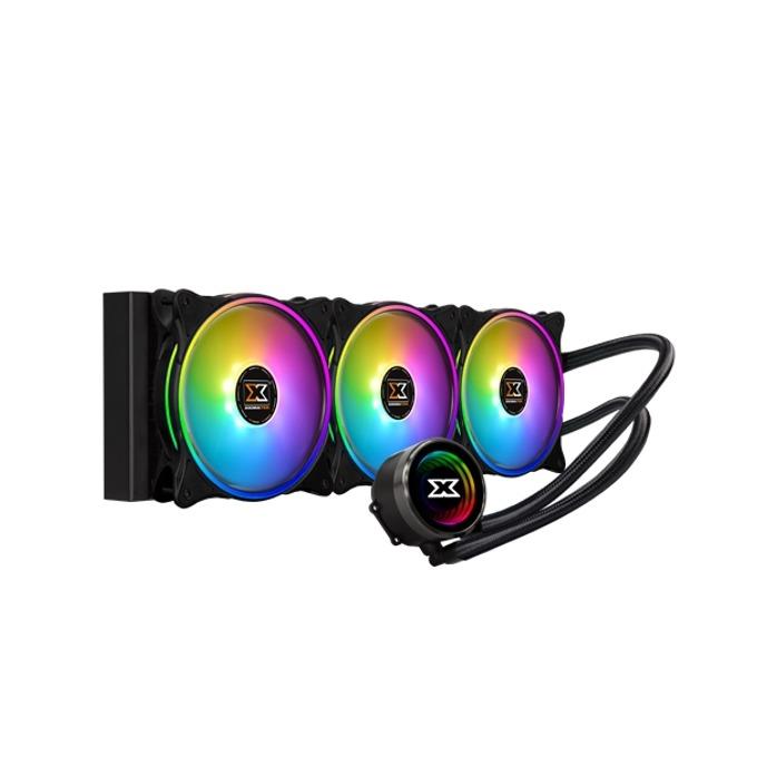 Водно охлаждане за процесор Xigmatek Aurora 360mm, съвместимост със Intel LGA 2066/2011-v3/2011/1366/115x & AMD: R4/AM4/AM3+/AM3/AM2+/AM2/FM2+/FM2/FM1 image