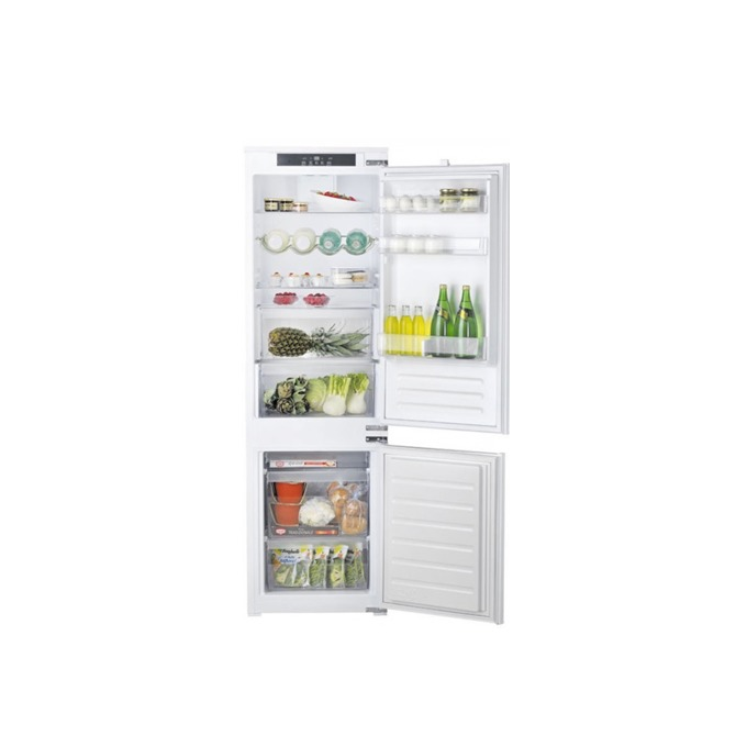 Хладилник с фризер Hotpoint Ariston BCB7030ECAA, клас А+, 271 л. обем, за вграждане, 320 kWh/годишно, Dual Control, бял image