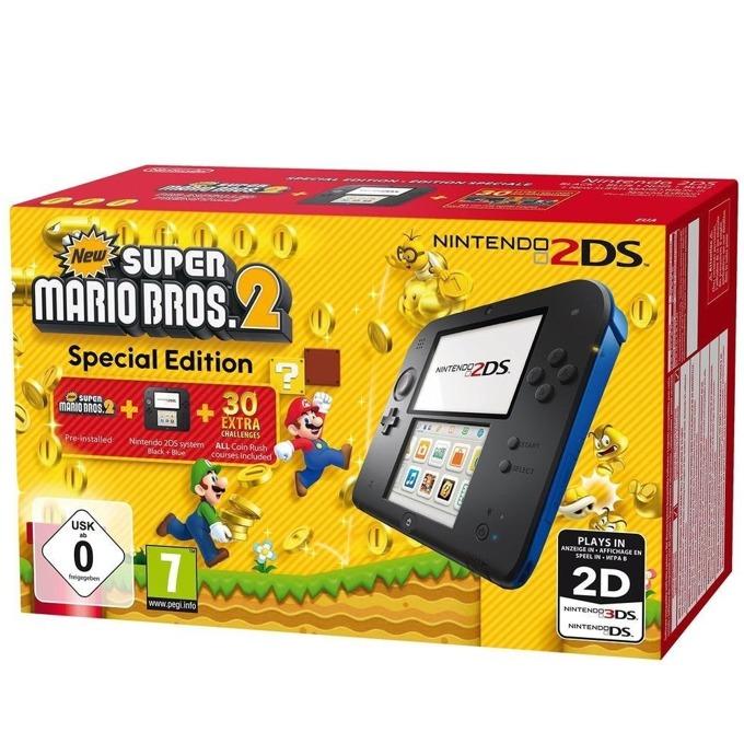 Nintendo 2DS New Super Mario Bros. 2 Black/Blue SE product