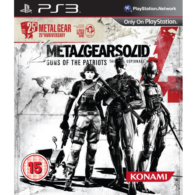 Игра за конзола Metal Gear Solid 4 25th Anniversary Edition, за PS3 image