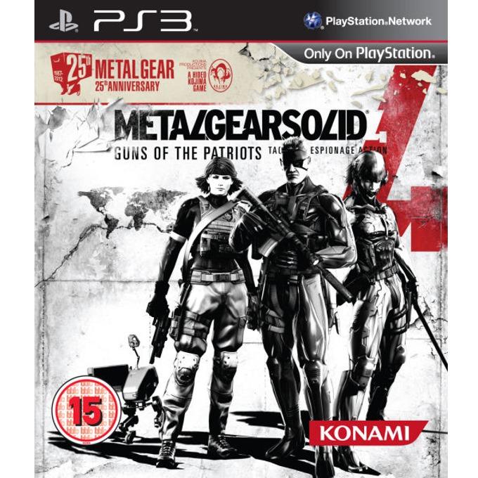 Игра за конзола Metal Gear Solid 4 25th Anniversary Edition, за PS3 image
