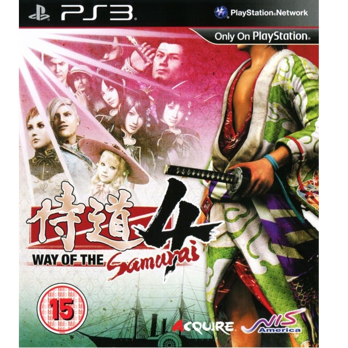 Игра за конзола Way of the Samurai 4, за PS3 image