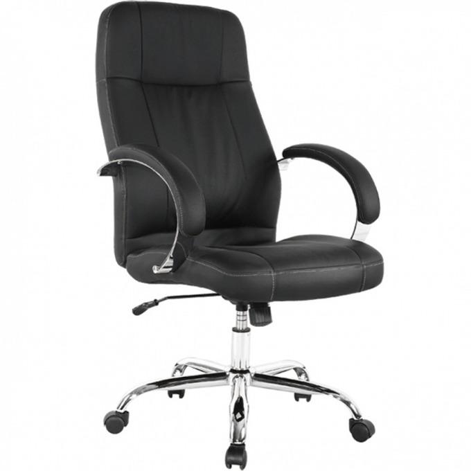 Директорски стол Relax Steel, ергономични седалка и облегалка, метални подлакътници, люлеещ механизъм, черен image
